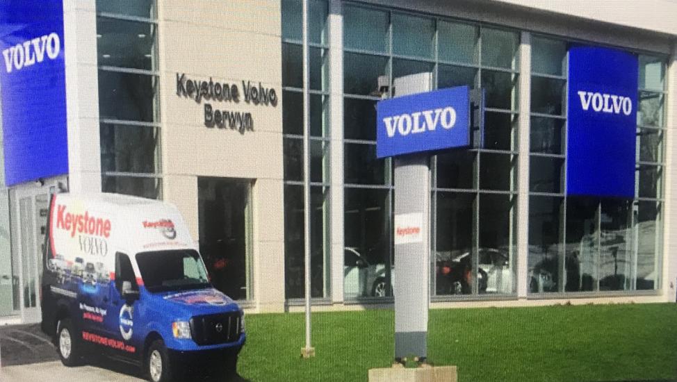 Progetti esecutivi per strutture in acciaio – Keystone Volvo – Ristrutturazione Capannone Industriale – Berwin (PA) USA